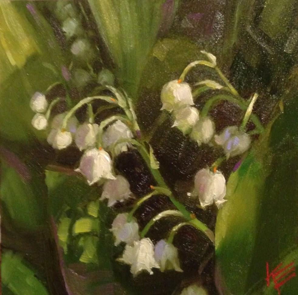 """Delicate Beauties"" original fine art by Krista Eaton"
