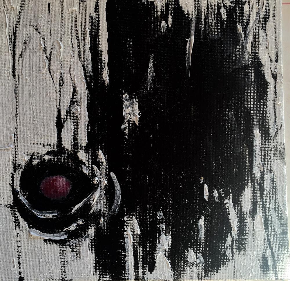 """""""Bird Nest, Day 19"""" original fine art by Connie Snipes"""