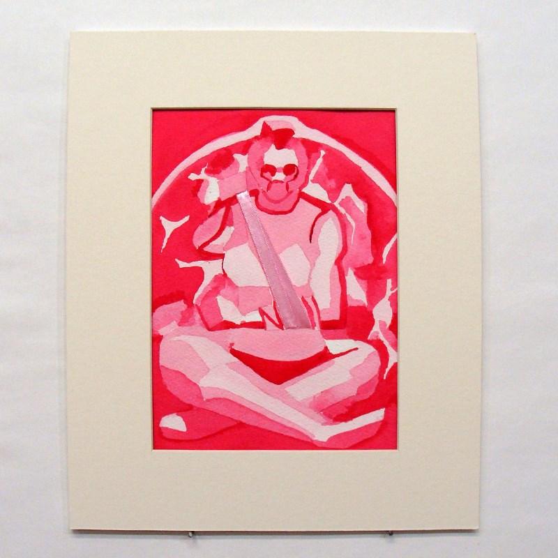 """""""Pink Triage"""" original fine art by Bonnie Fillenwarth"""