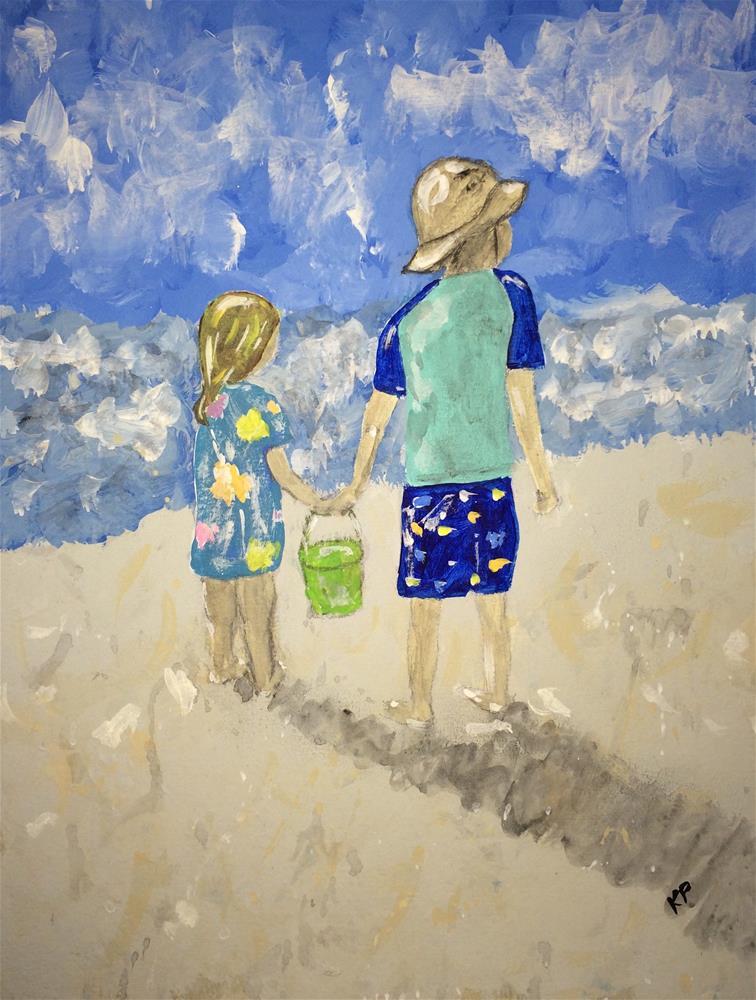 """""""Together 2"""" original fine art by Kali Parsons"""