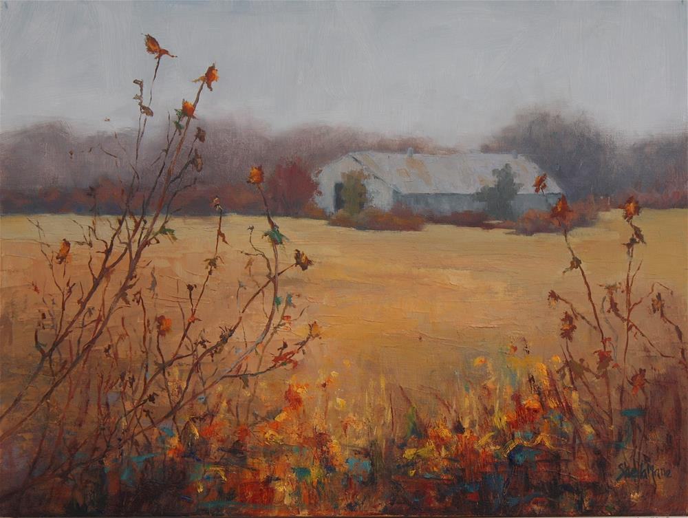 """Early Morning Mist"" original fine art by Sheila Marie"
