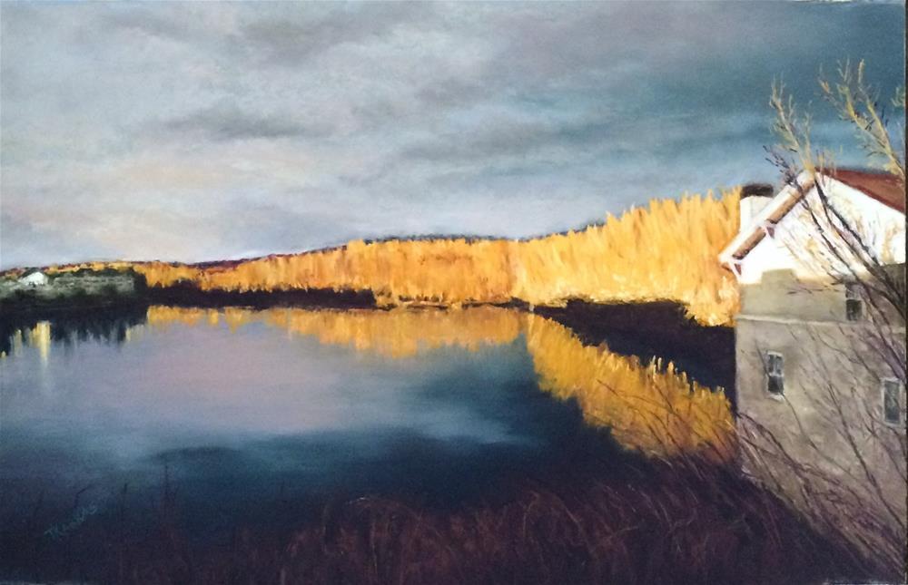 """""""Dusk"""" original fine art by Christina Karras"""