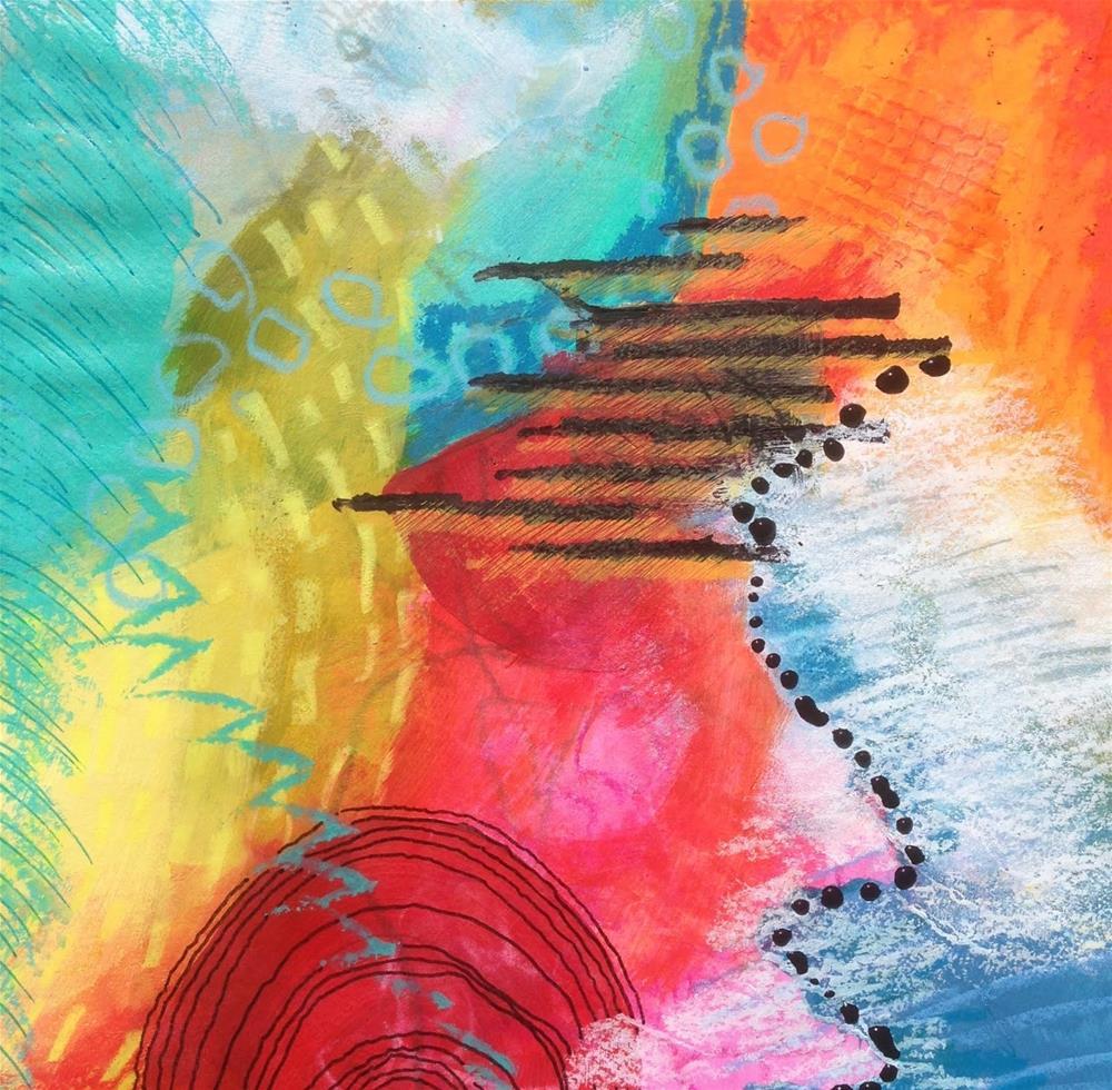"""""""IMPROV, Day 1c"""" original fine art by Dotty  Seiter"""