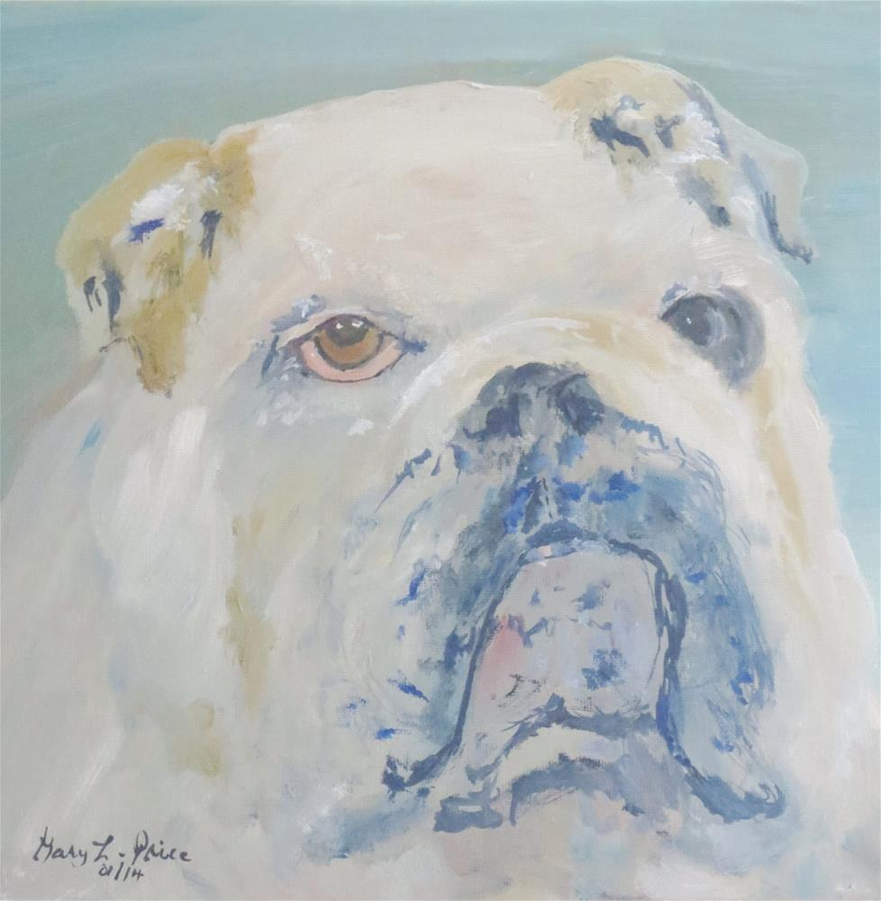 """Bulldog"" original fine art by Gary Price"