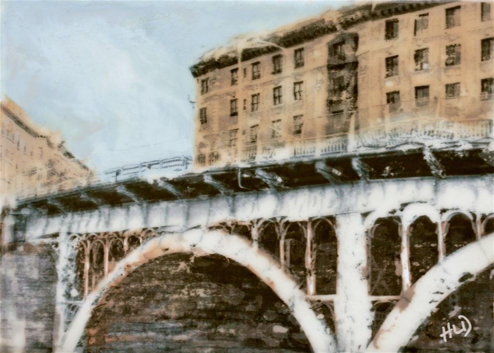 """Riverside and West 135th"" original fine art by Heather Douglas"
