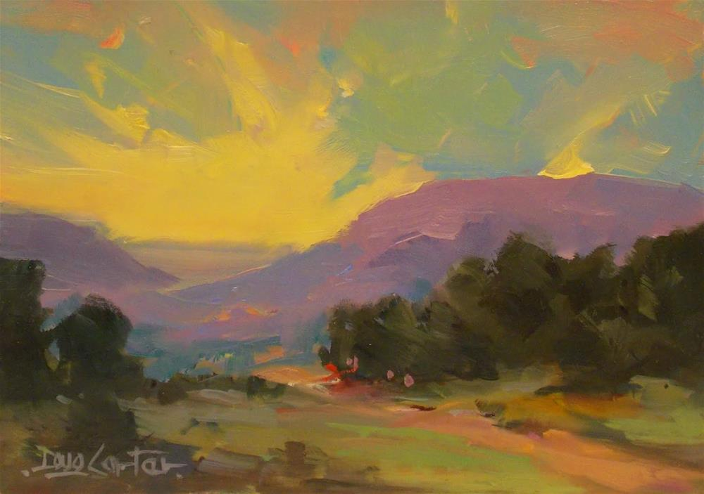 """HILL COUNTRY"" original fine art by Doug Carter"