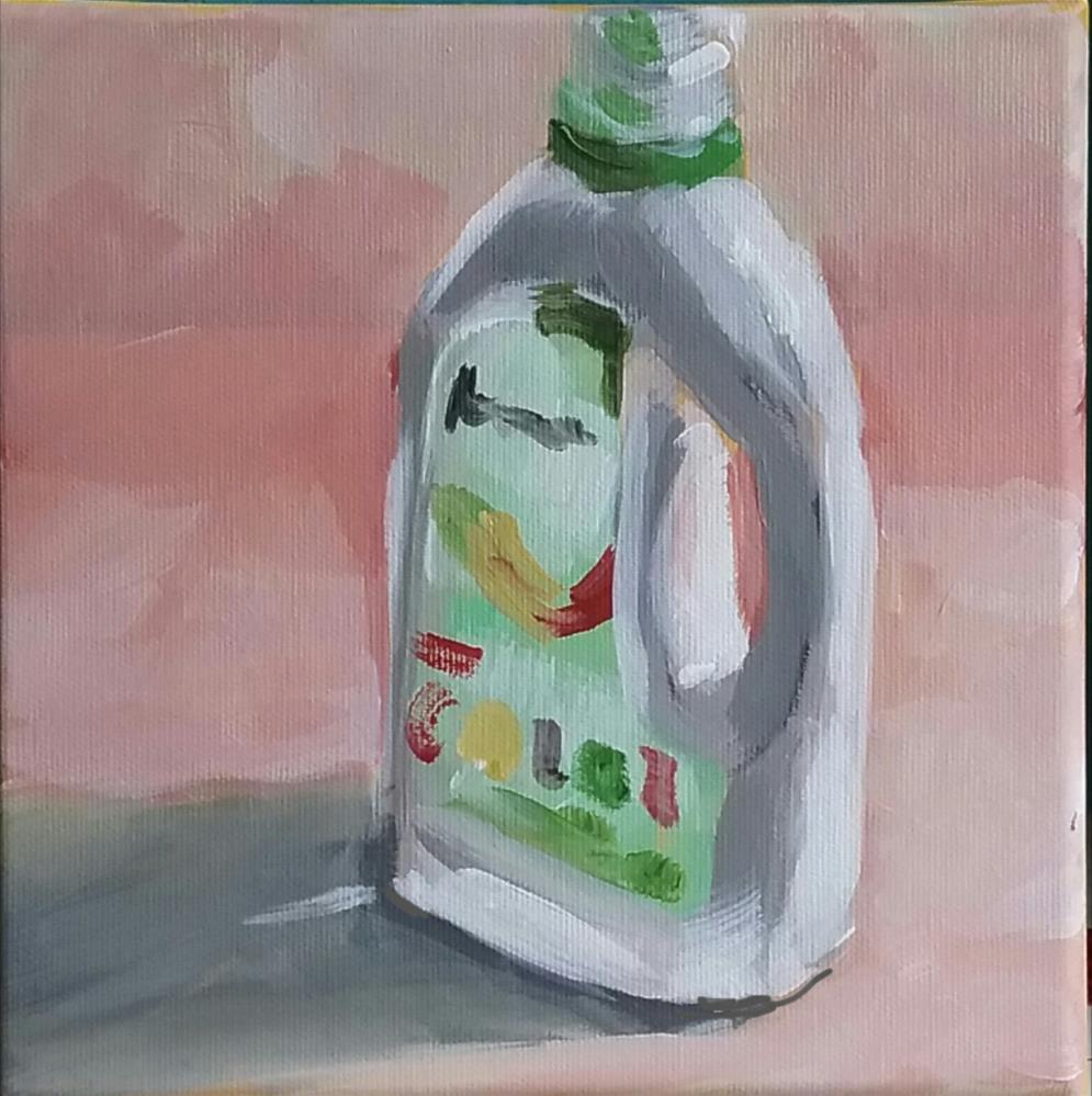 """""""Waschmittel"""" original fine art by Sabine Hüning"""