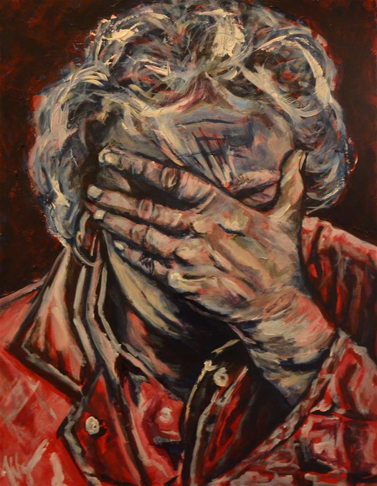 """Regret"" original fine art by Vy Ngo"