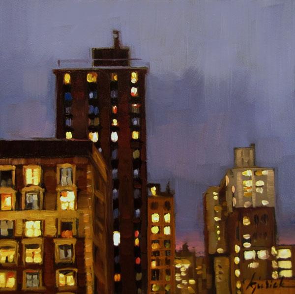 """Twilights"" original fine art by Karin Jurick"