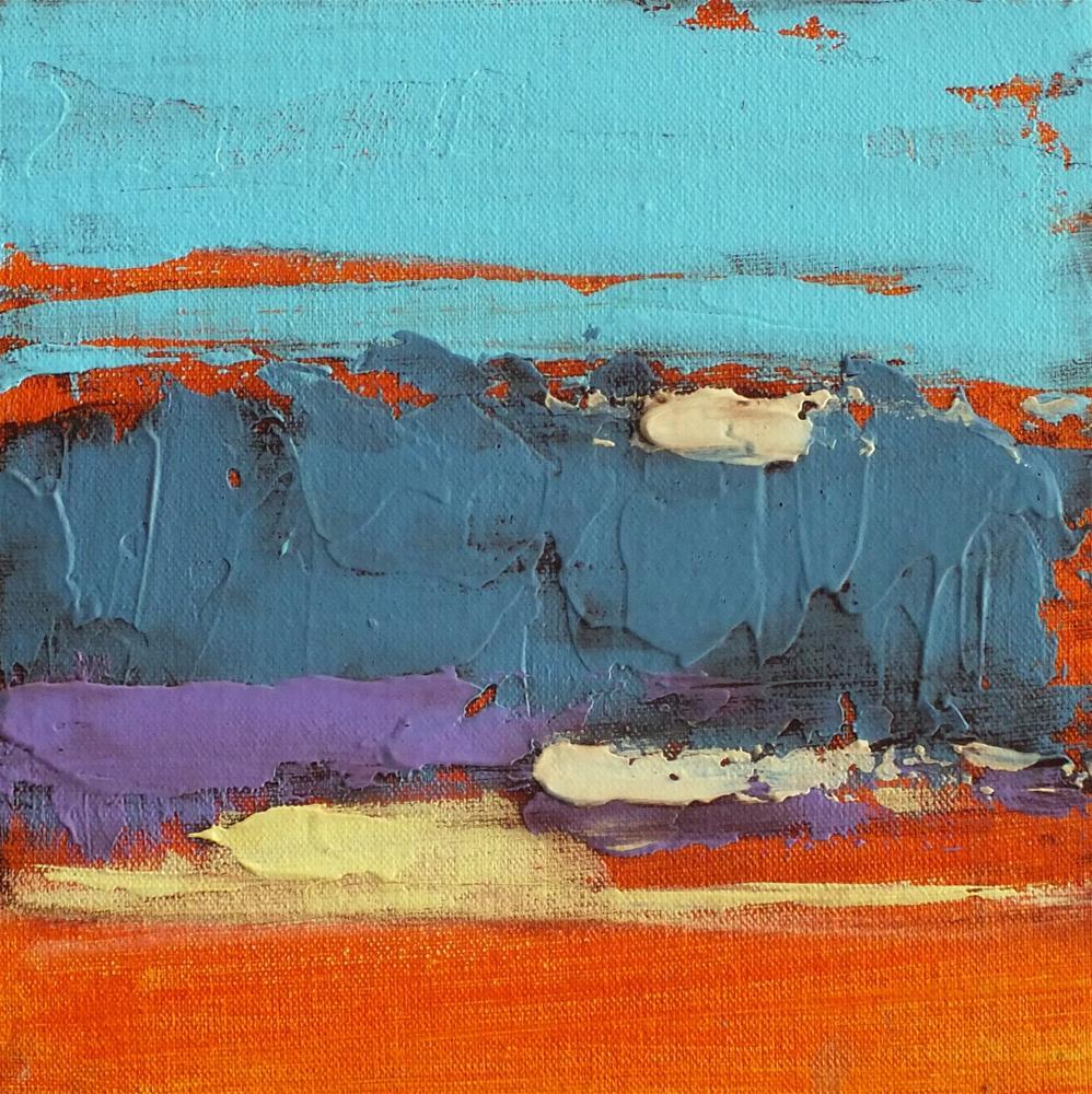 """Landscape 276"" original fine art by Ewa Kunicka"