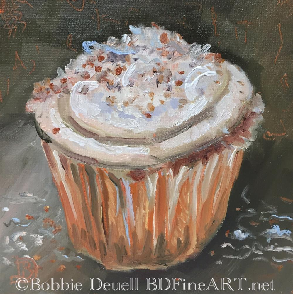 """#52 Cupcake Sensation "" original fine art by Bobbie Deuell"