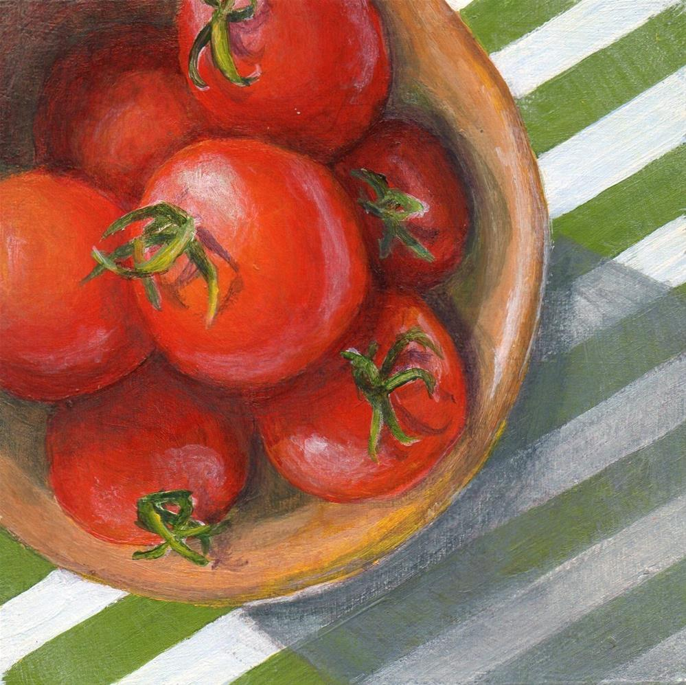 """In A Round"" original fine art by Debbie Shirley"