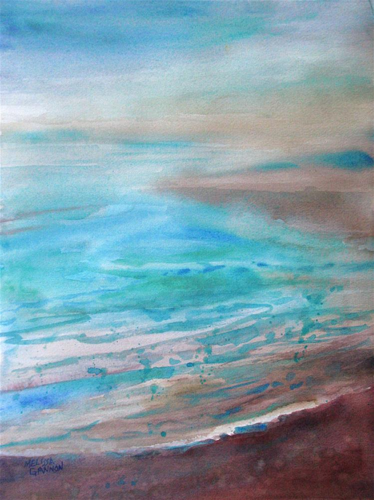 """Misty Mood"" original fine art by Melissa Gannon"