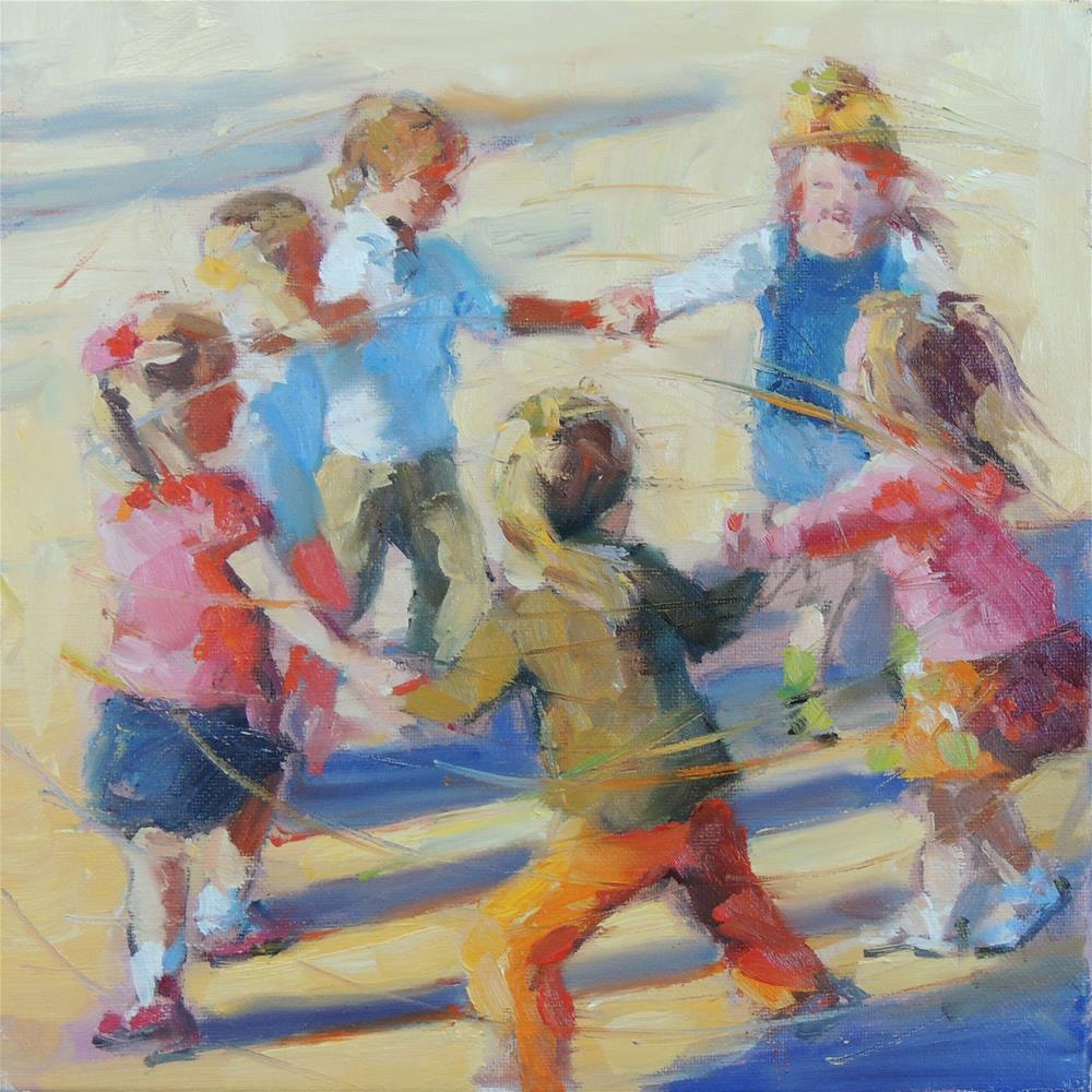 """""""Playground"""" original fine art by Wendy Brayton"""