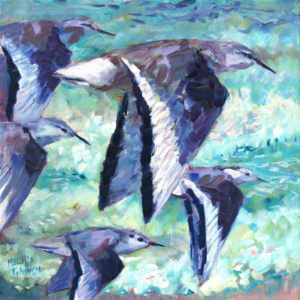 """Coast Flight"" original fine art by Melissa Gannon"