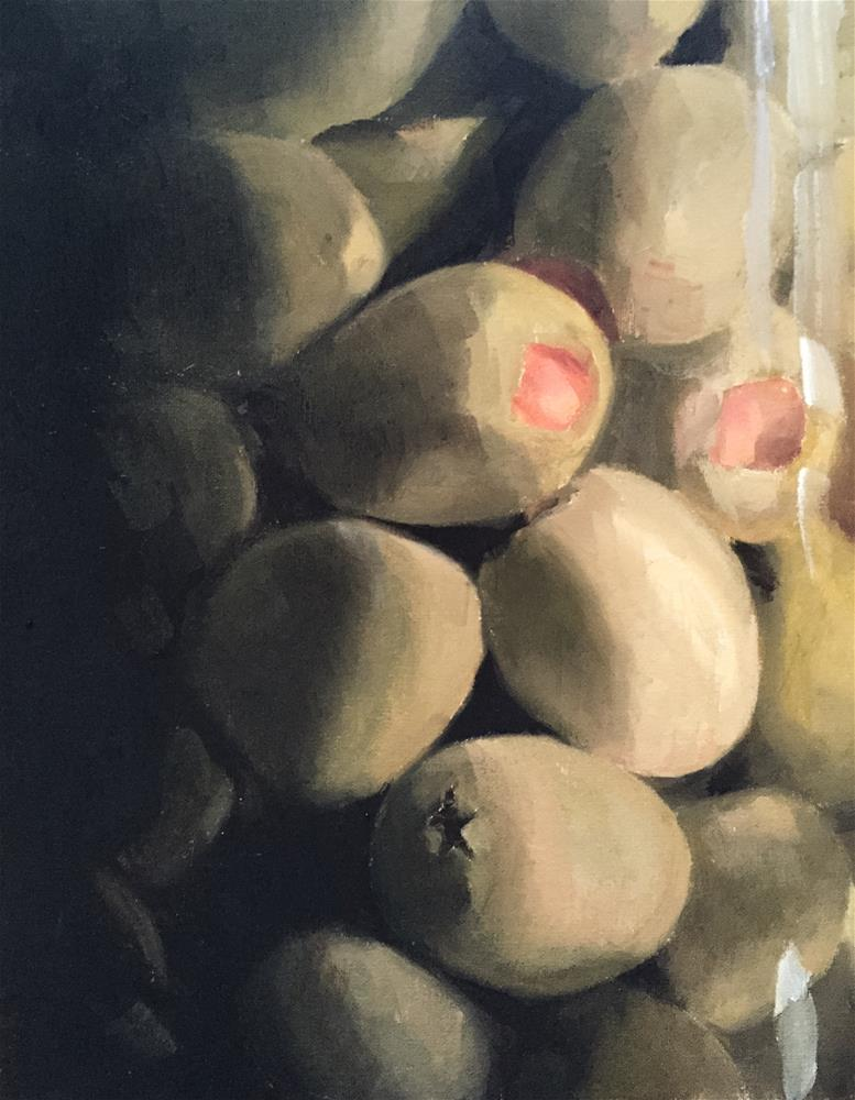 """Olives"" original fine art by James Coates"