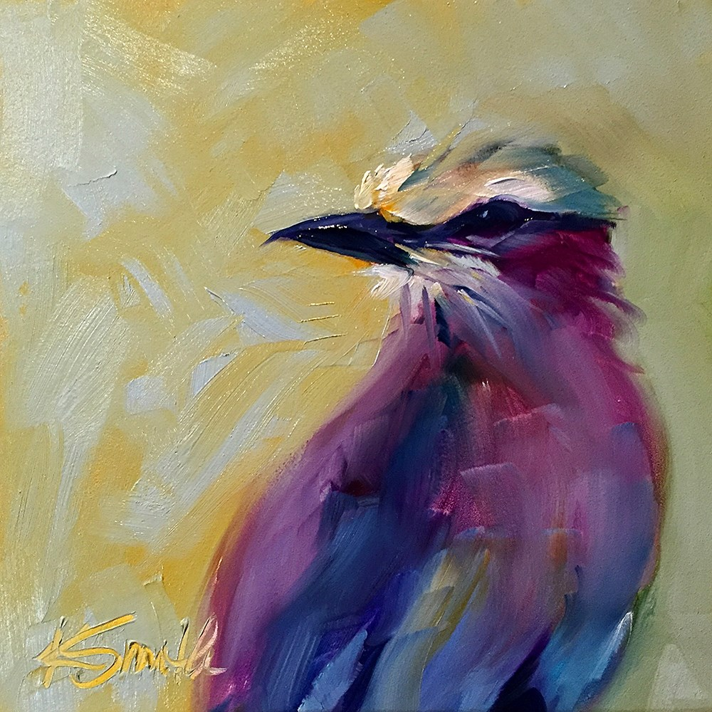 """colorful personality"" original fine art by Kim Smith"