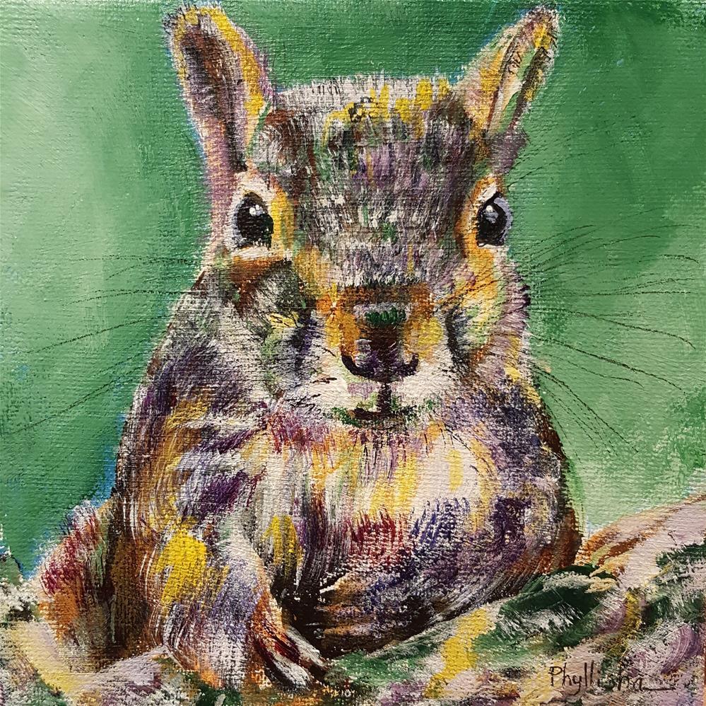 """Little Fella"" original fine art by Phyllisha Hamrick"