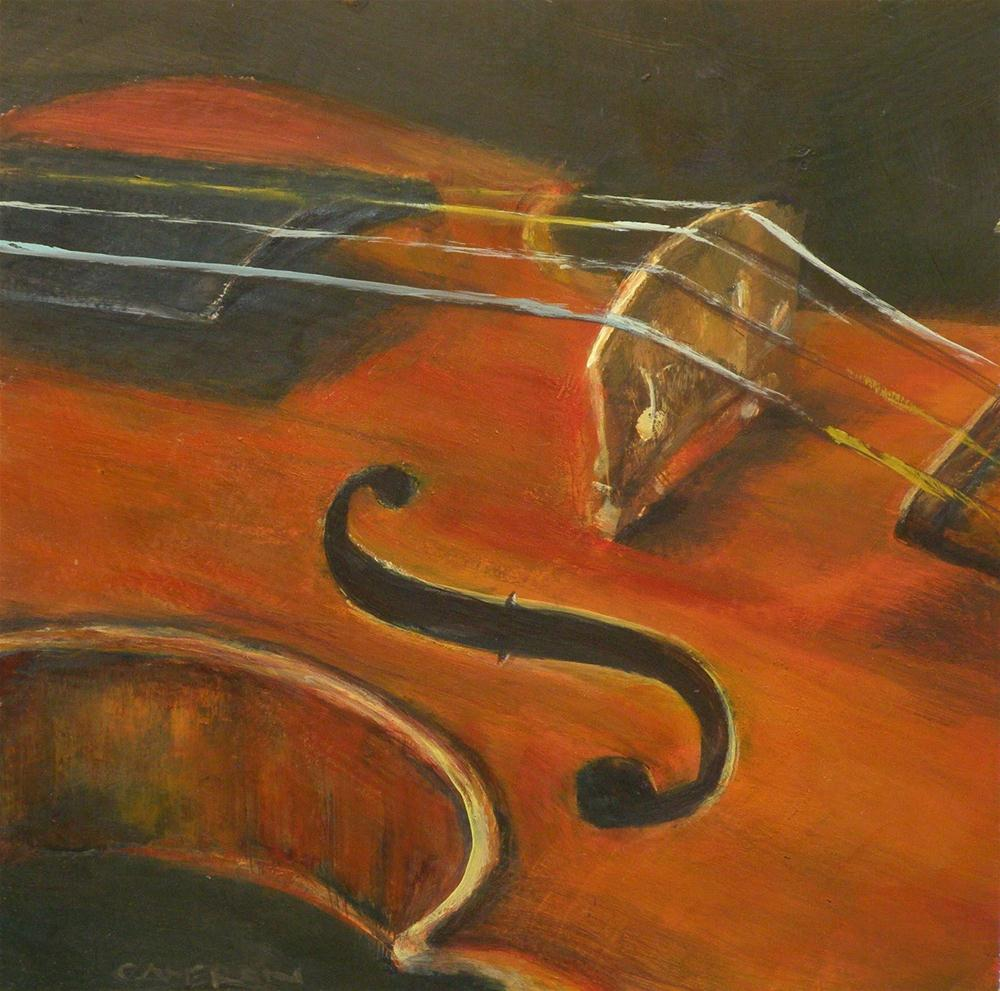 """VIOLIN 5"" original fine art by Brian Cameron"