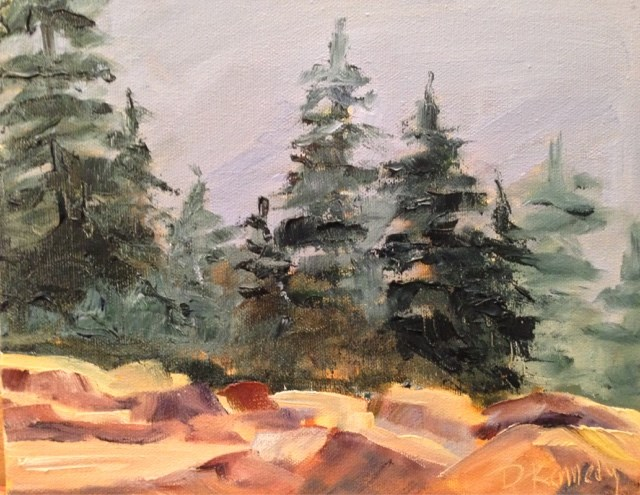 """North Country"" original fine art by Debra Kennedy"