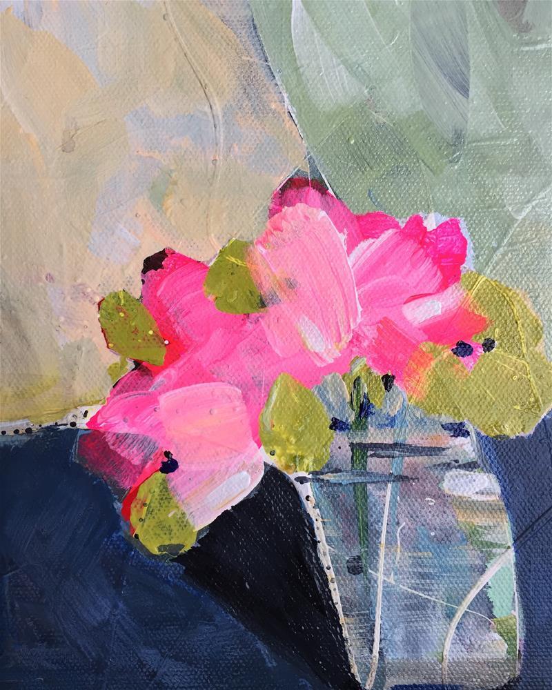 """""""Pretty in Neon Pink"""" original fine art by Jenny Doh"""