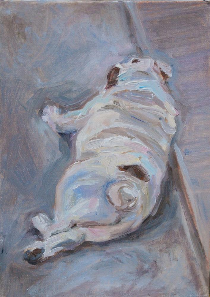 """My Best Side"" original fine art by Carol DeMumbrum"