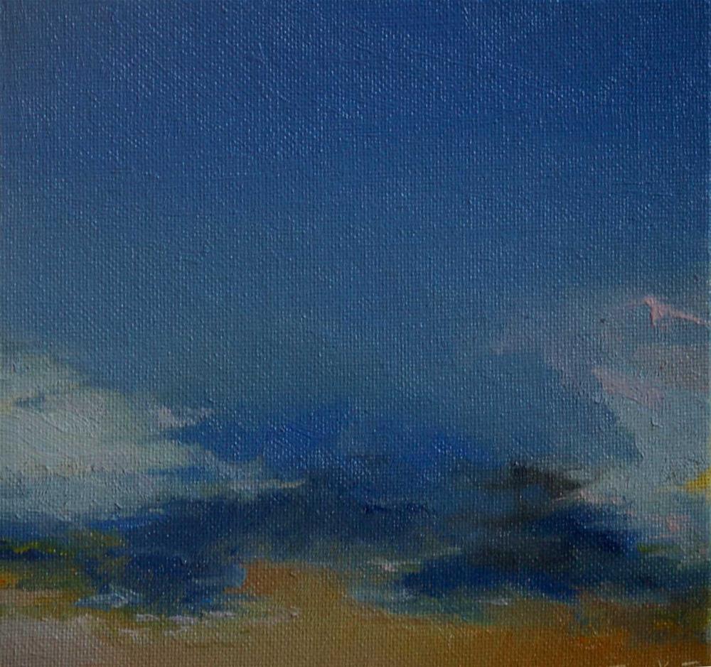 """sky. challenge"" original fine art by V. DeBak"