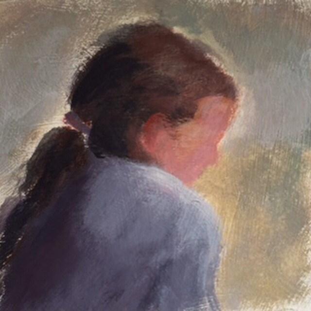 """""""Gracie"""" original fine art by Melissa Gresham"""