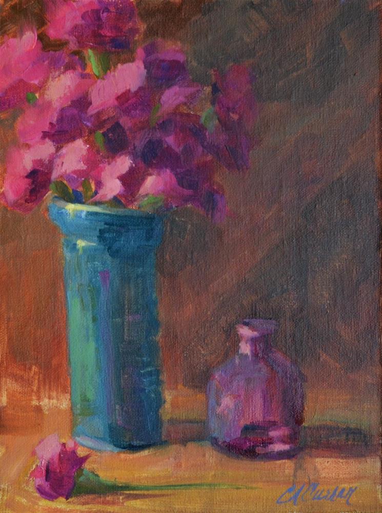 """""""Pinks"""" original fine art by Cheryl A Curran"""