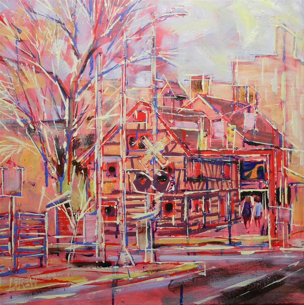 """Golden Plow Tavern of York by Larry Lerew 130103"" original fine art by Larry Lerew"
