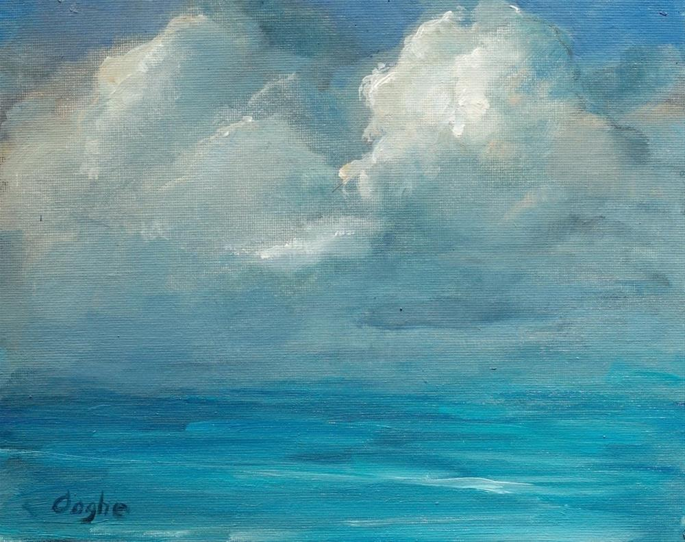 """Sea and Sky"" original fine art by Angela Ooghe"