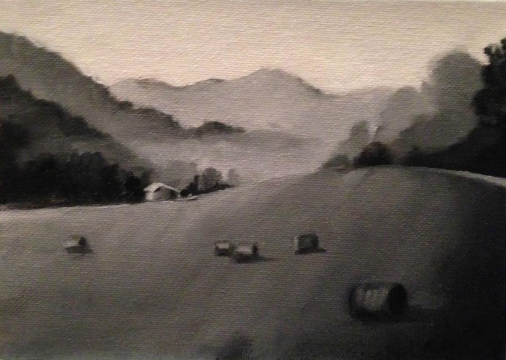 """Value Study - Day 1 Workshop"" original fine art by Beth Moreau"