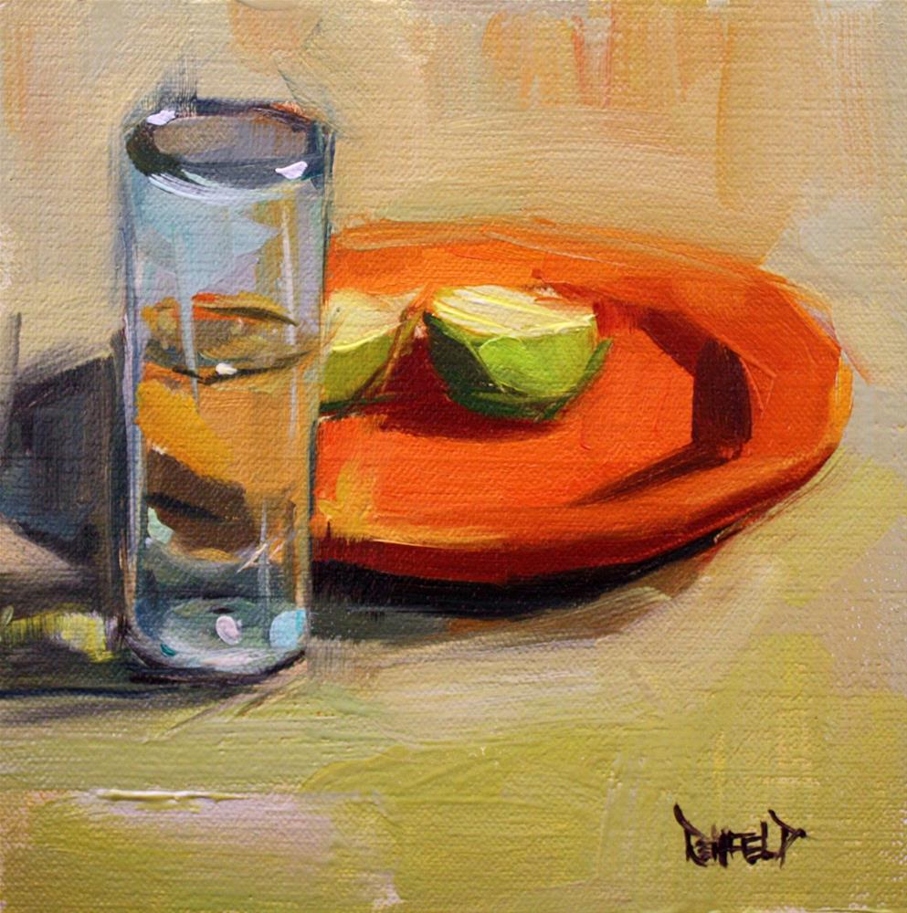 """Tequila and Limes"" original fine art by Cathleen Rehfeld"