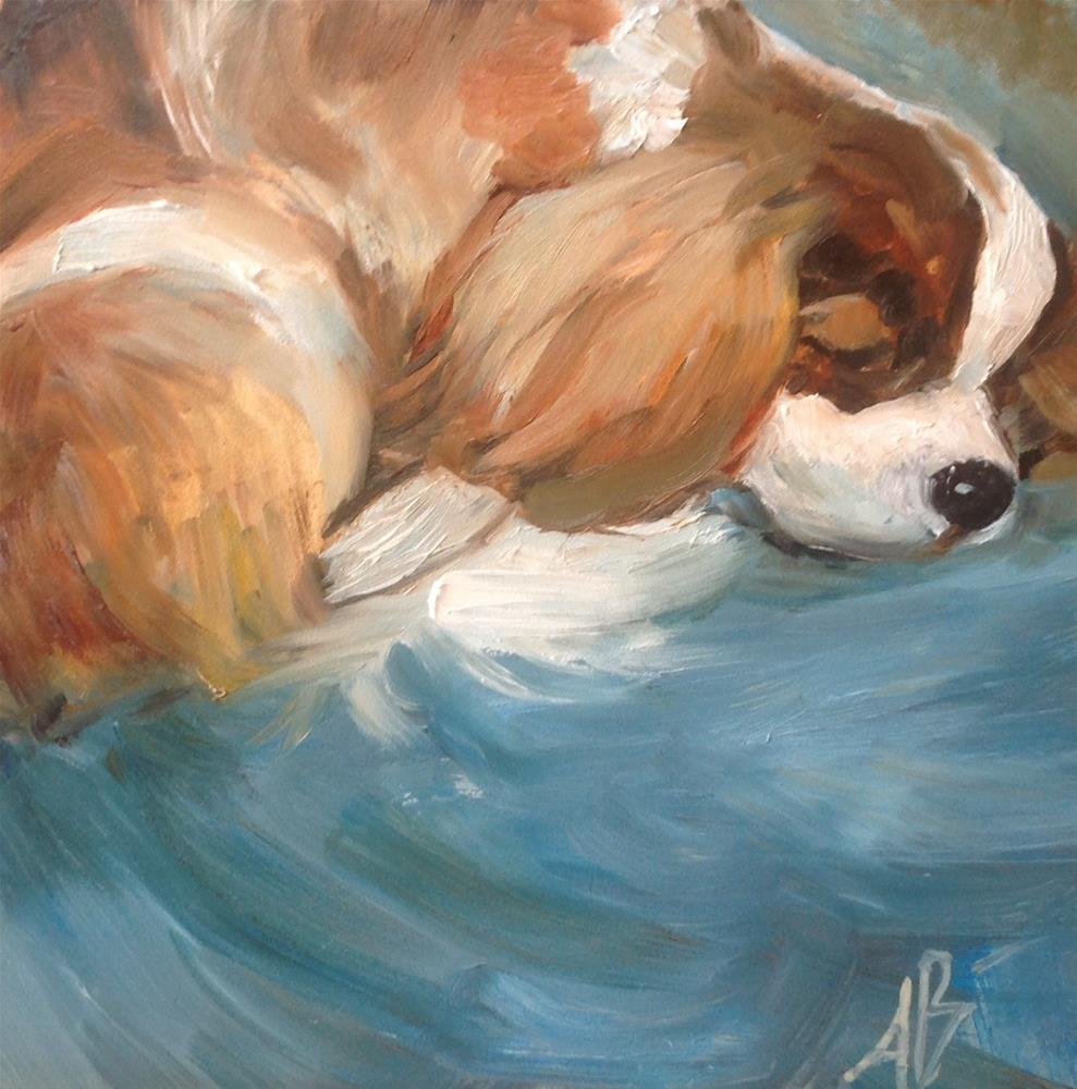 """Do Not Disturb"" original fine art by Annette Balesteri"