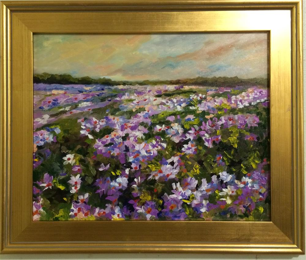"""Daisy Fields"" original fine art by Ramya Sarveshwar"