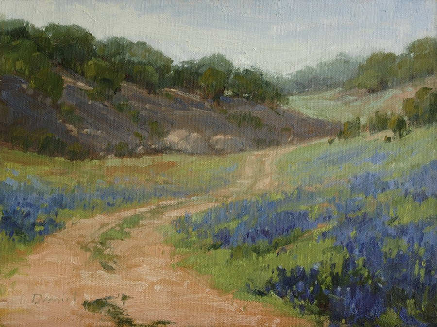 """Plein Air Southwest Salon 2013 - Exhibit in Dallas!"" original fine art by Laurel Daniel"