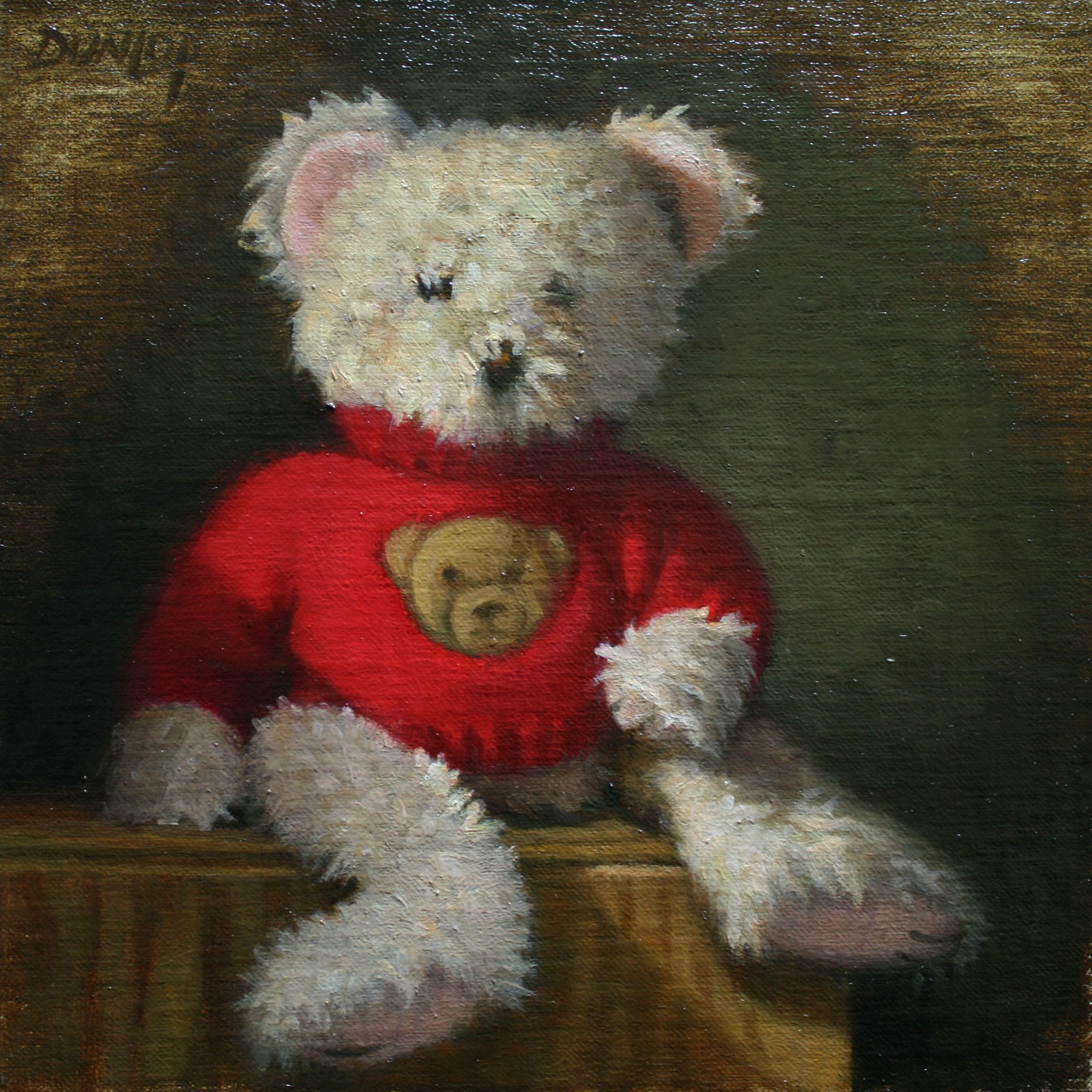 """""""BOM Bear"""" original fine art by Bobbi Dunlop"""