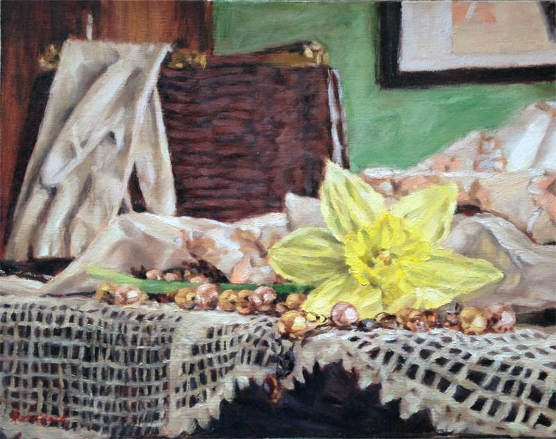 """Grandma's Things"" original fine art by Audra Esch"