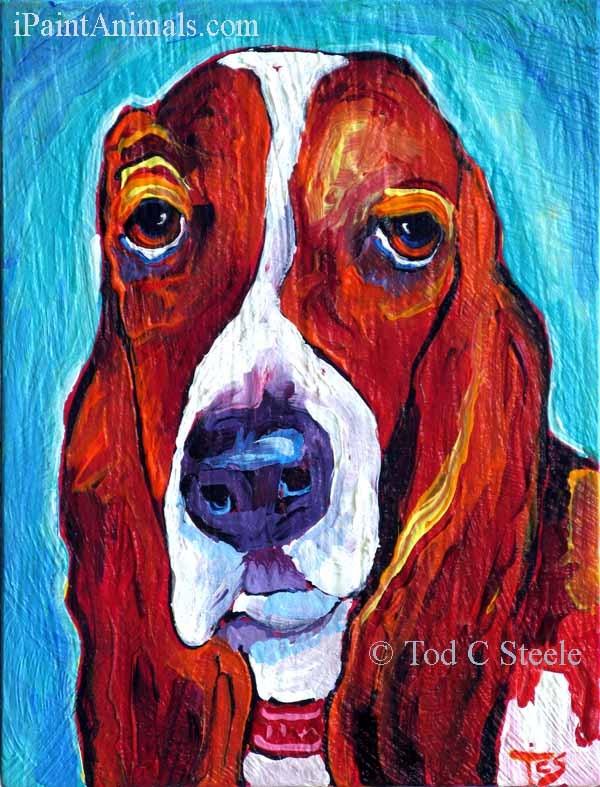 """""""Winslow - by Tod C Steele"""" original fine art by Tod Steele"""