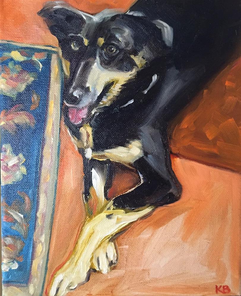 """Daisy"" original fine art by Kim Boyer"