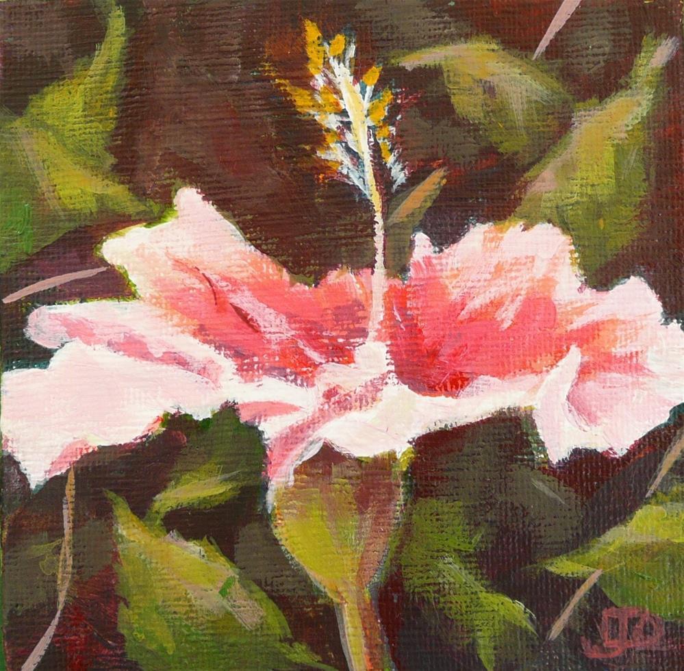 """""""Sun Seeker"""" original fine art by Leanne Owen"""