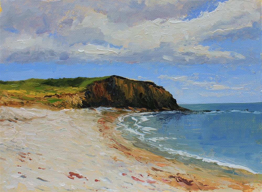 """Seaside "" original fine art by Marco Vazquez"