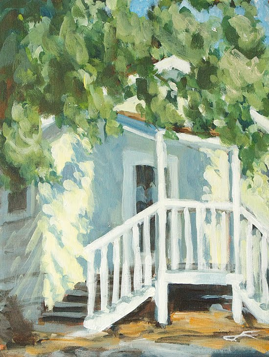"""Annadel Cottage"" original fine art by J. Farnsworth"