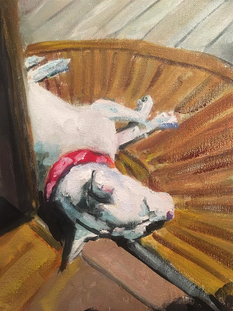 """Abby in the Sunshine"" original fine art by Susan Elizabeth Jones"