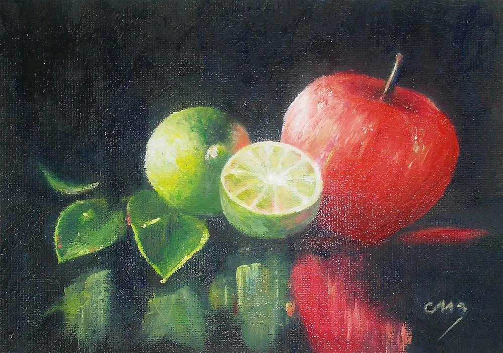"""Mixed Reflections"" original fine art by Catherine Zakutney"