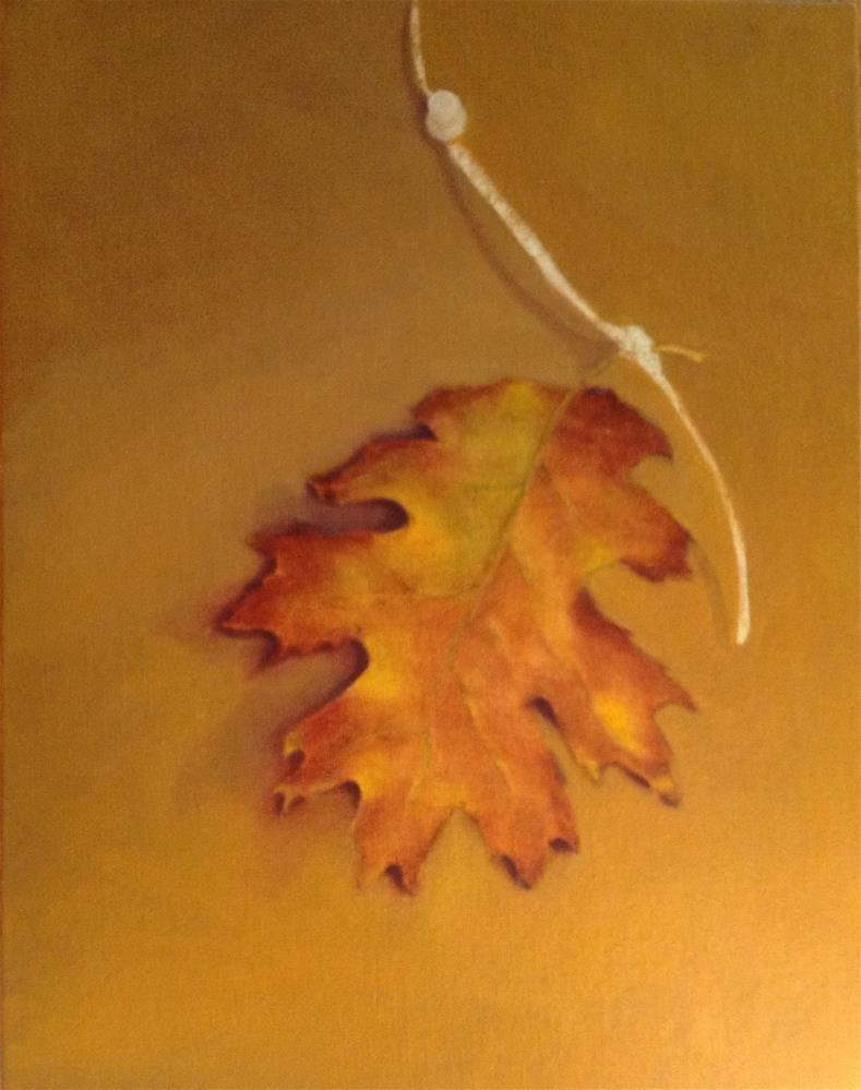 """Burr Oak"" original fine art by Susan Hoffheimer"