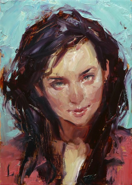 """Raggedy"" original fine art by John Larriva"