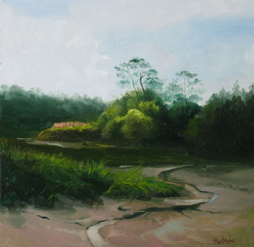"""Ashley River"" original fine art by Setsuko Lawson"