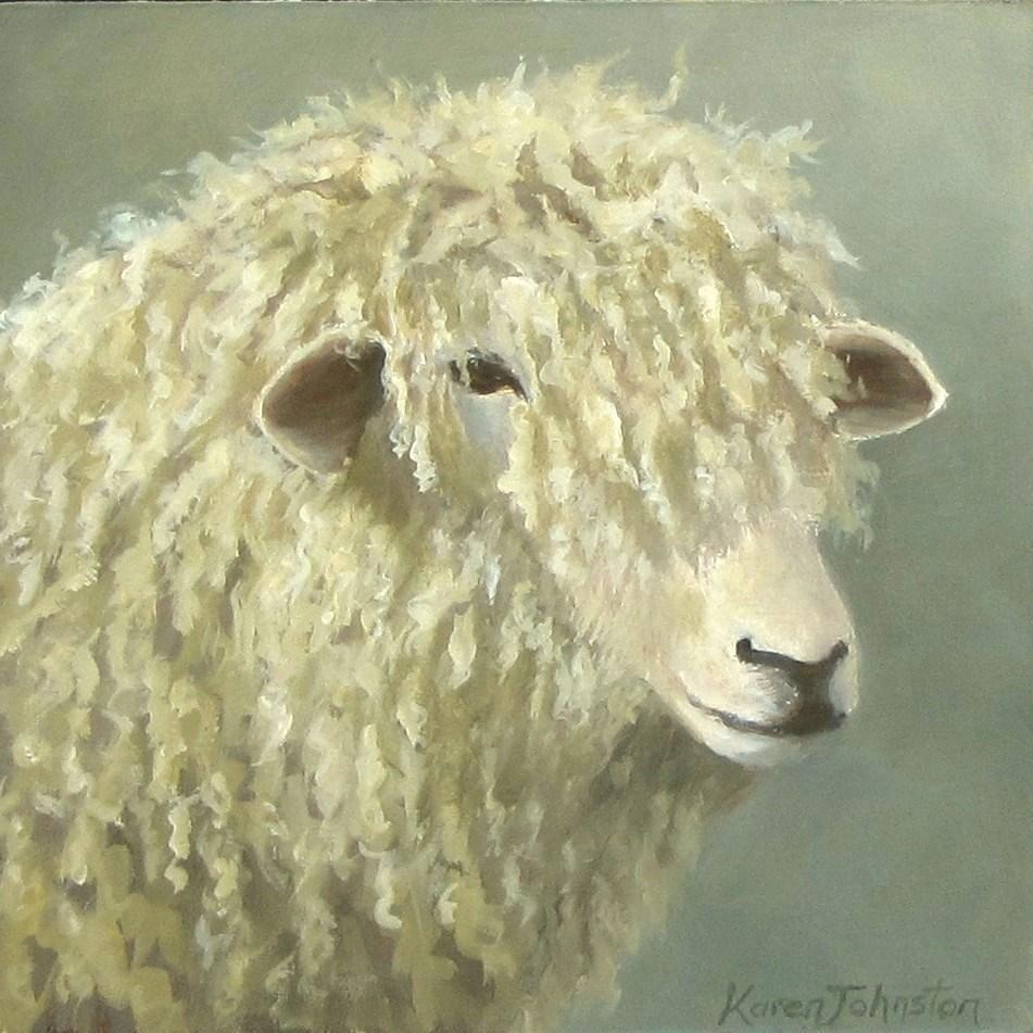 """Another Bad Hair Day"" original fine art by Karen Johnston"