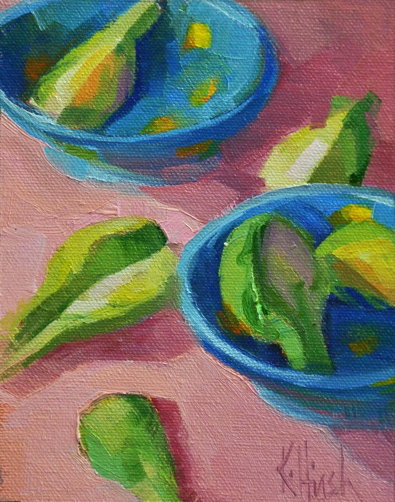 """""""Sprouts"""" original fine art by kathy hirsh"""